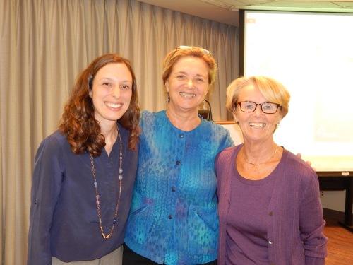 NLIHC Research Director, Megan Bolton. NLIHC President/CEO Sheila Crowley and TAC Co-Founder and Senior Policy Advisor Ann O'Hara