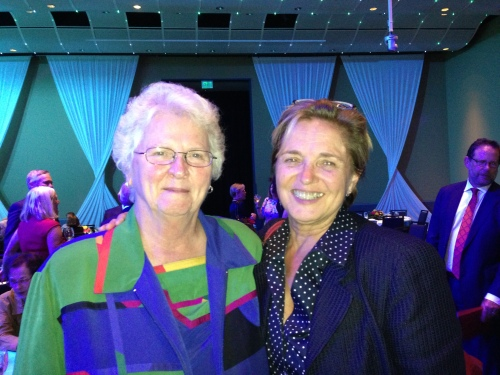 Sister Lillian Murphy , CEO Mercy Housing and Sheila Crowly, President and  CEO, NLIHC