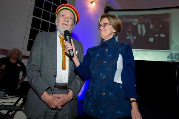 Louis Dolbeare and Sheila Crowley, NLiHC President and CEO
