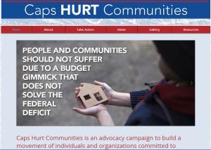 Caps Hurt Communities
