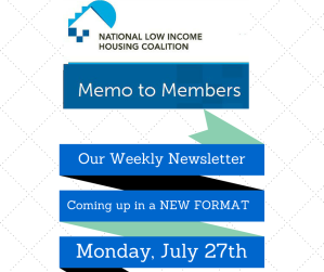 Memo New format July 27th