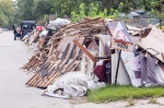 Flooding Damage in the Lakewood Area of Houston, TX: Revolution Messaging/Arun Chaudhary