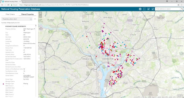 NHPD Property Mapping Tool