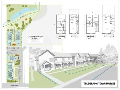 Telegraph Townhomes rendering